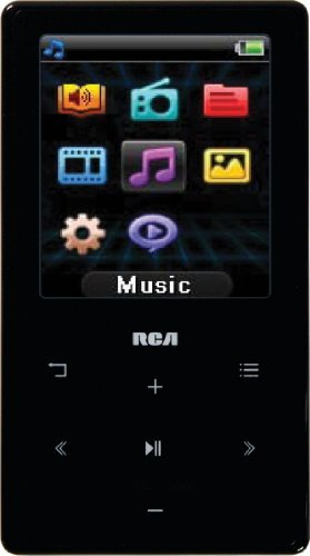 RCA M6104 4 GB MP3 Player with 1.8-Inch Color Display
