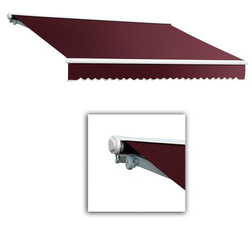 Galveston Semi Cassette Awning Size 14 W X 10 Projection Color Burgundy Motor Orientation Right Side Best Buy on Deep Water Loveseat Dining Set