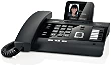 Gigaset DL500A - Teléfono (Escritorio, Negro, 263 x 168 x 108 mm, Digital, 256 colores, 320 x 240 Pixeles)