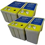 4 CiberDirect Compatible Ink Cartridges for use with Epson Stylus CX3200 Printers.