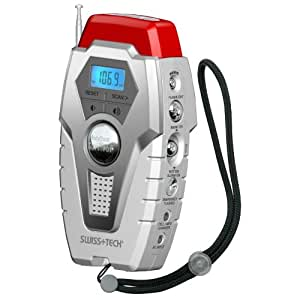 Swiss+Tech ST84500 BodyGard Platinum Series Survivor 12-in-1 Self-Powered Emergency Radio