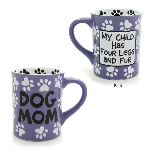 Enesco 4026112 Our Name Is Mud by Lorrie Veasey Dog Mom Mug