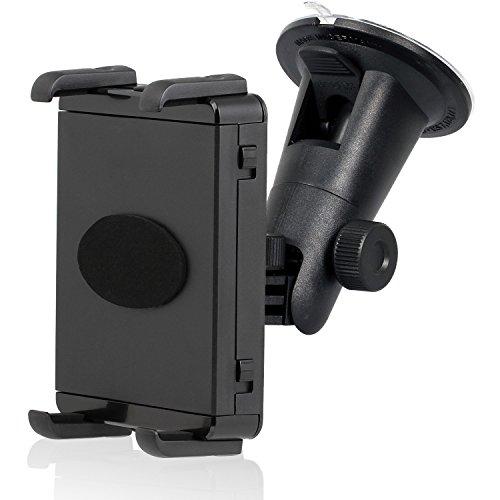 KFZ Scheiben Halterung für Tablet und Smartphone  360 Grad  geeignet bis 10 5 cm Höhe   20 5 cm Breite  für Bumper   Case  Made in Germany