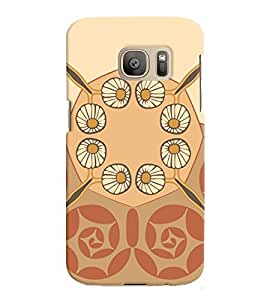 Samsung Galaxy S7 EDGE MULTICOLOR PRINTED BACK COVER FROM GADGET LOOKS
