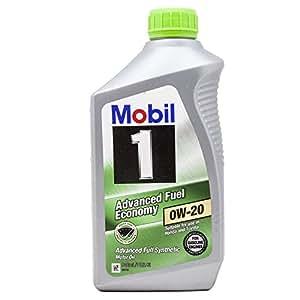 Mobil 1 98KF98 0W-20 Advanced Fuel Economy Synthetic Motor Oil - 1 Quart