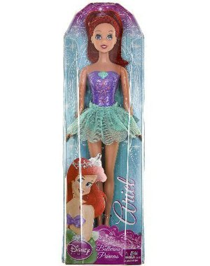 Buy Low Price Mattel Disney Princess Ballerina Princess – Ariel Figure (B0037JDV02)