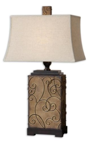 27669 Calvina Wooden Lamp Shades