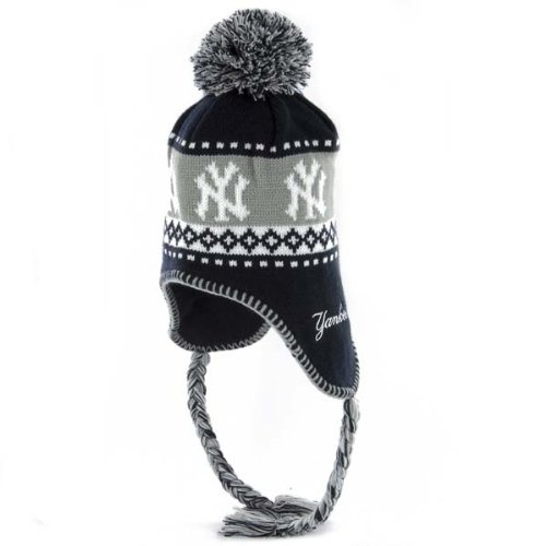 MLB New York Yankees Abomination Knit, Navy, One Size (New York Yankee Tie compare prices)