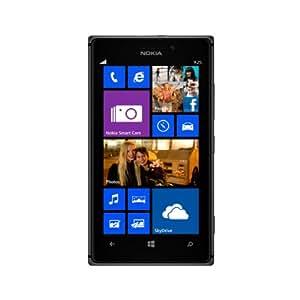 Nokia Lumia 925 RM-893 16GB 4G LTE AT&T GSM Unlocked Windows 8 Cell Phone - Black/Dark Gray