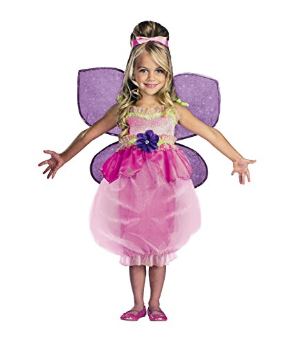 Barbie Deluxe Thumbelina Costume Girls Medium (Size 7-8)