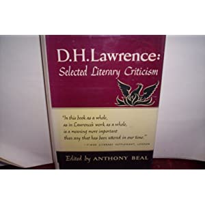 Amazon.com: D.H. Lawrence: Selected Literary Criticism: Anthony ...