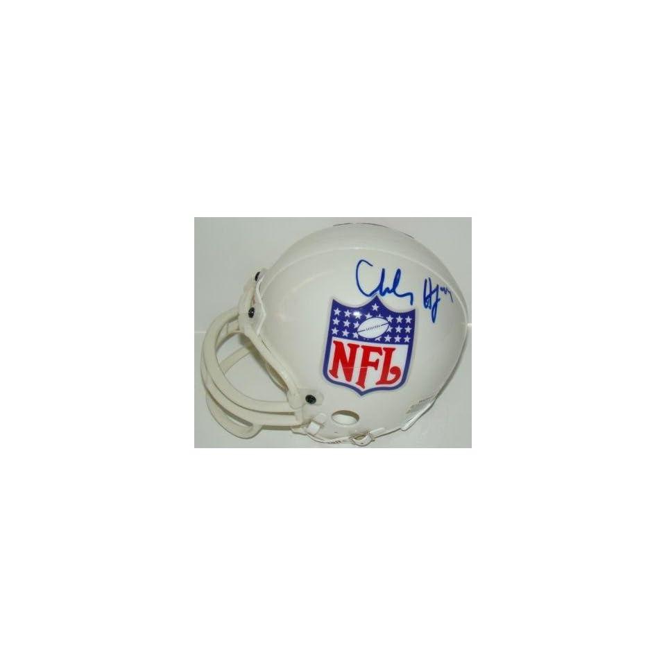 Charles Haley Autographed Mini Helmet   JSA   Autographed NFL Mini Helmets
