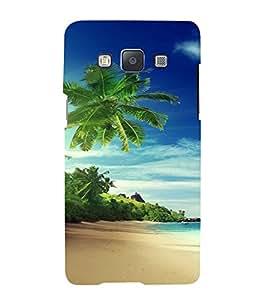 PrintVisa Travel Beach Art Design 3D Hard Polycarbonate Designer Back Case Cover for Samsung Galaxy A7
