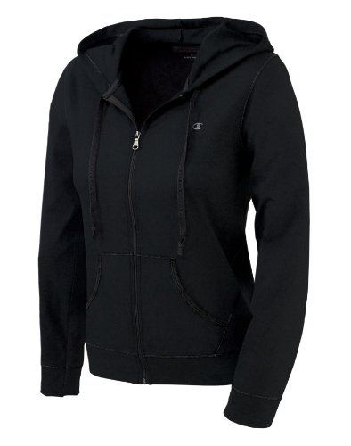 Champion Women's Favorite Jacket (Large/Black)