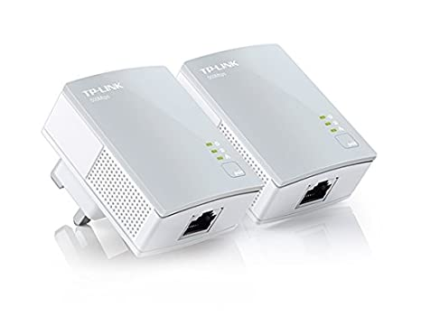 TP-LINK TL-PA4010KIT 500 Mbps Pack de 2 Nano Adaptateurs CPL (1 Port Ethernet)