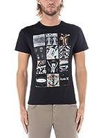 Nike Hurley Camiseta Manga Corta Universal Corner (Negro)
