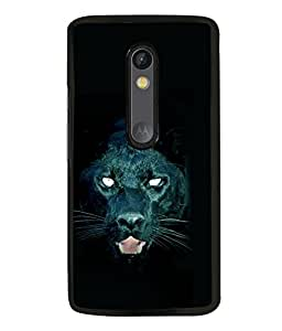 printtech Black Panther Back Case Cover for Motorola Moto G Turbo Edition
