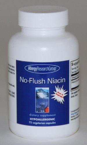 Allergy Research - No-Flush Niacin, 75 Capsules