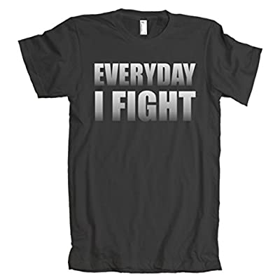 Everyday I Fight Cancer Tribute American Apparel T-Shirt