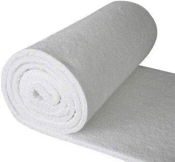 "Refractory Ceramic Fiber Blanket (8#, 2300F)(1""x24""x25') for Kilns, Pizza Ovens, Furnaces, Wood Stoves"