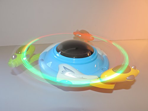 Magic UFO Bump n' Go Action - Flashes, Plays Sound and Revolves 360 degrees! - 1