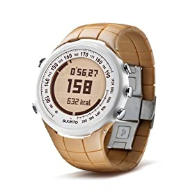 Suunto T1 Heart Rate Monitor and Fitness Trainer Watch (Sand)
