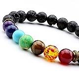 JSDDE-Lava-Armband-Unisex-Zen-Buddhismus-Armreif-Energietherapie-Yoga-Armband-7-Chakra-Healing-Wurzelchakra-Buddha-Armband