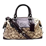 Coach Ashley Signature Satin Satchel F15443 thumbnail