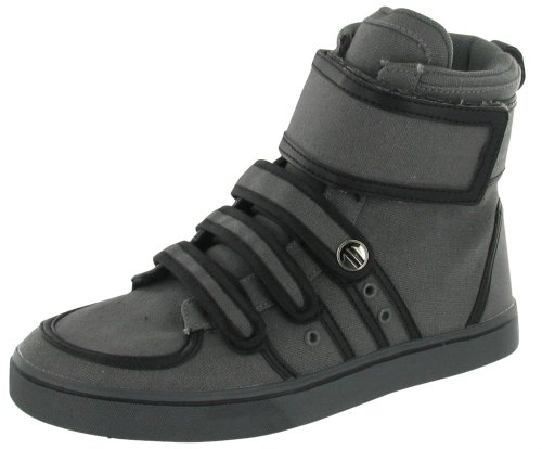 RADII 420 Piped Mens High Top Buckle Zip Lace Up Sneaker Shoe Size 10