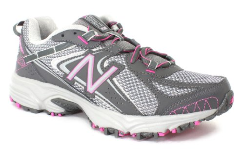 New Balance Women's WT411 Grey Pink Synthetic And Mesh Athletics 10 C/D US