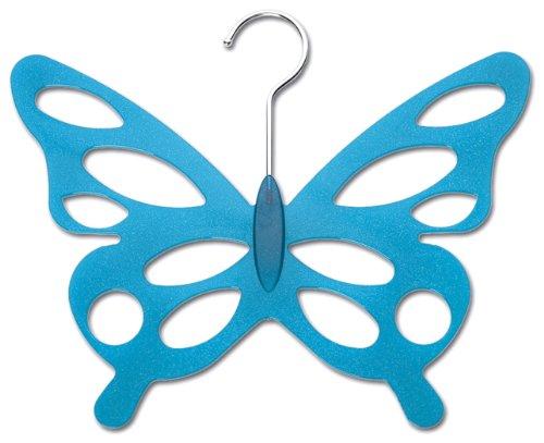 Wenko 8016500 Lot de 2 cintres en acrylique en forme de papillon 30,5 x 24,5 x 0,5 cm