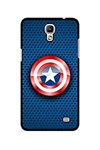 Caseque Lustrous Captain America Shield Back Shell Case Cover For Samsung Galaxy Mega 2