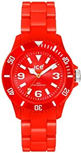 Ice-Watch Unisex-Armbanduhr Medium Classic Solid Rot CS.RD.U.P.10