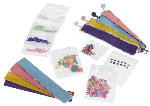 Creativity for Kids: Felt and Flower Bracelet - 1