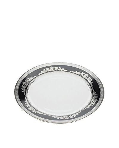 Lene Bjerre Imperial Lunch Plate, Black/White