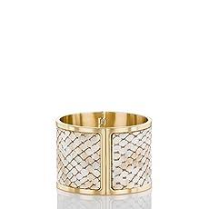 Large Cuff Bracelet<br>Beige Parker