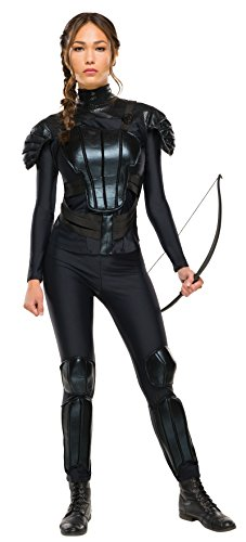 Rubie's Costume Co Women's The Hunger Games Deluxe Katniss Costume, Multi, Large