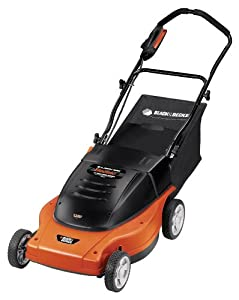 Black & Decker MM875 Lawn Hog 19-Inch 12 amp Electric Mulching Mower with Rear Bag from Black & Decker