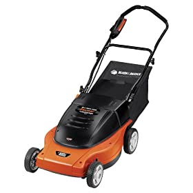 Black &#038; Decker MM875 Lawn Hog 12 Amp 19-Inch Electric Mulching Mower with Rear Bag