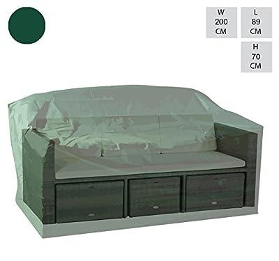 3-4 Personen, grün, Extra groß, Modular-Bank von Cozy Bay - Gartenmöbel von Du und Dein Garten