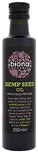 Biona Organic Hemp Seed Oil 250 ml (Pack of 2)