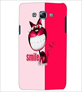 PrintDhaba Funny image D-5050 Back Case Cover for SAMSUNG GALAXY J7 (Multi-Coloured)