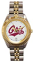 Montana Grizzlies- (University of) Ladies Executive Stainless Steel Sports Watch