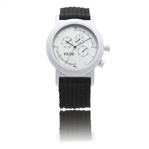 KR3W Navigator Watch White, One Size