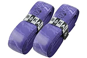 Karakal Super PU Multi Colours Replacement Grips - Tennis - Squash - Badminton - Black x 4