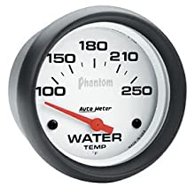 Auto Meter 5737 Phantom Electric Water Temperature Gauge