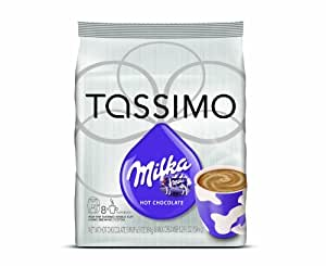Milka Milka Hot Chocolate, 16-Count T-Discs for Tassimo Coffeemakers (Pack of 2)