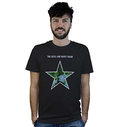 T-shirt The Jesus and Mary Chain, maglietta Alternative Rock nera, Post Punk