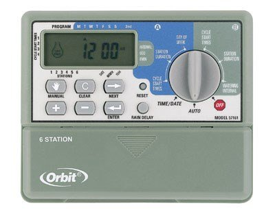 Orbit 6 Station Sprinkler Timer 1 - 4 Starts / Day (Orbit Sprinkler Timer 4 Station compare prices)