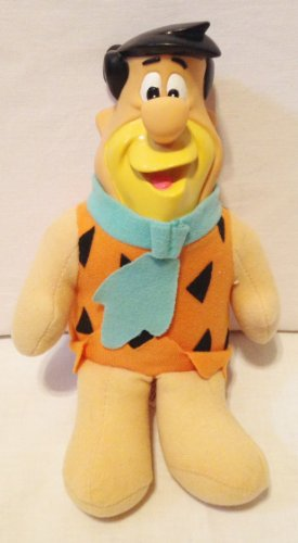 "1994 Days Inn The Flintstones Travel Buddies Fred Flintstone Plush 9"" Doll"